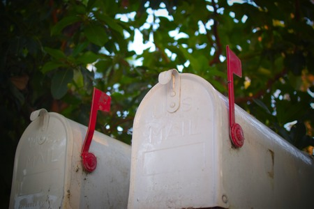 You ve Got Mailboxes Stock Photo