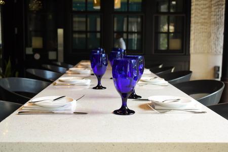 Blue Wineglasses