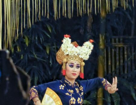 Legong dancer, Ubud, Bali