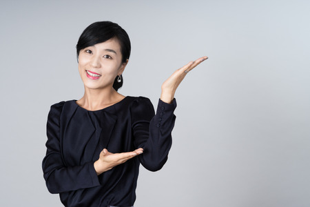 refused: attractive asian woman image