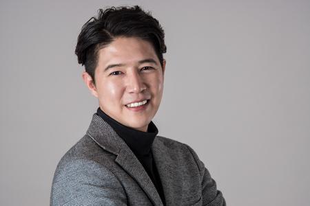 Portrait of a happy Asian business man Reklamní fotografie
