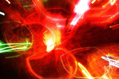 Grunge Rouge vif, jaune, noir et vert résumé Banque d'images - 2371240