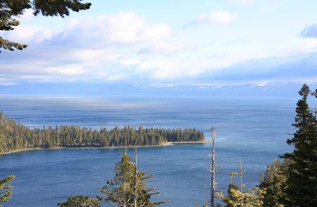 Beautiful Emeral Bay situé au bord du lac Tahoe en Californie  Banque d'images - 2997383