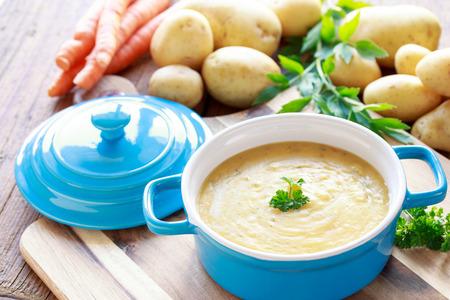 Potato soup Reklamní fotografie