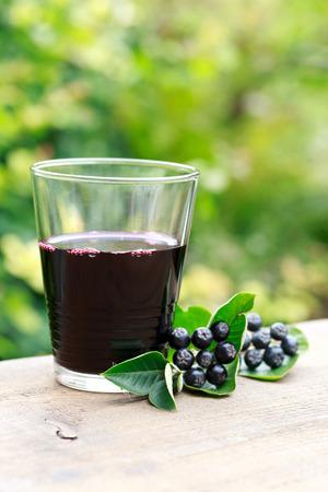 umbel: chokeberry juice