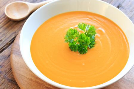 calabaza: Sopa de calabaza