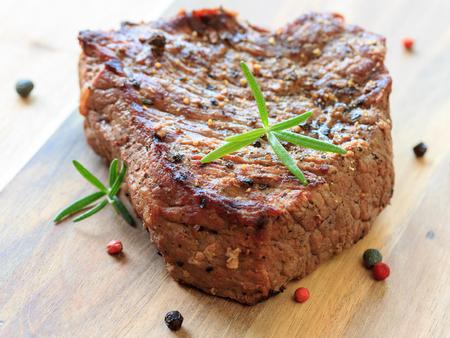 rump steak: Sirloin steak