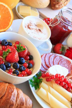 breakfast plate: Breakfast Stock Photo