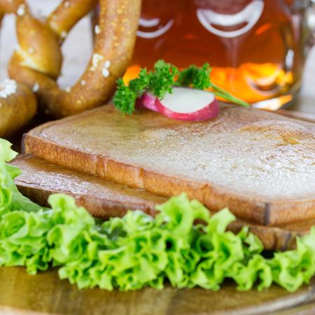 albondigas: Al horno pastel de carne
