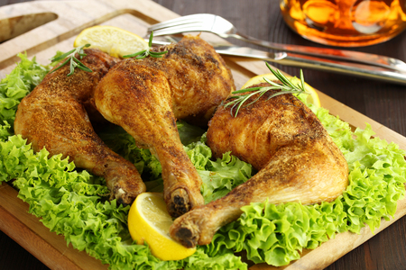 pollo asado: Grilled chicken