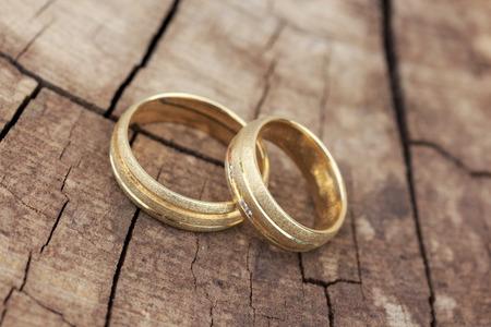 alliance: wedding rings Stock Photo