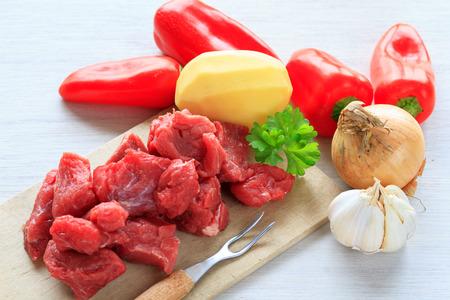 goulash: beef goulash