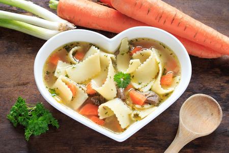 noodle soup: noodle soup Stock Photo