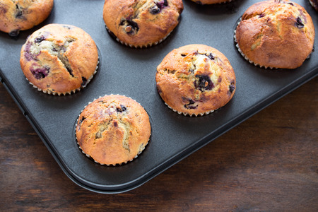 blueberry muffin: Blueberry Muffins