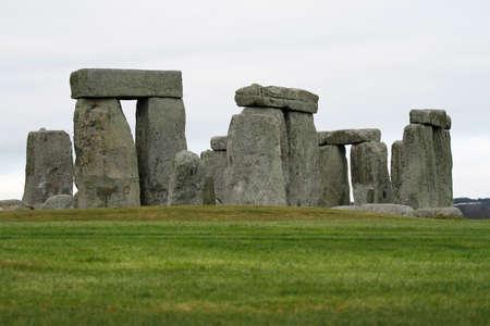 Prehistoric monument Stonehenge in Wiltshire, England