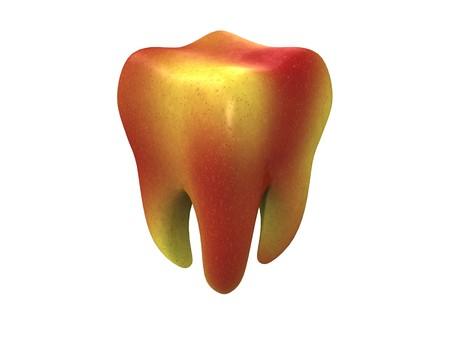 An apple a day keeps the dentist away