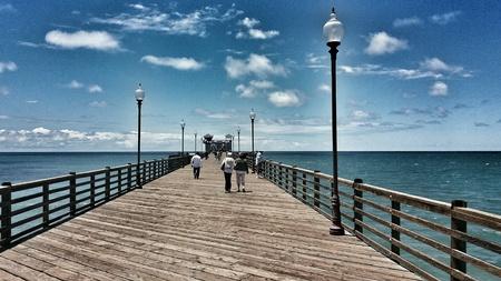 oceanside: Pier at Oceanside, California
