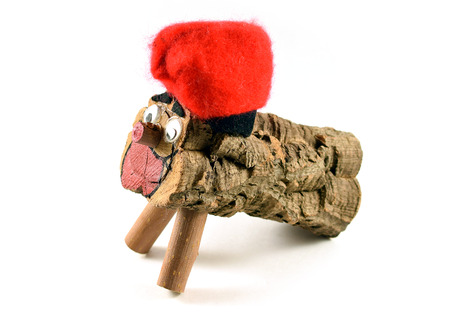 nadal: Tio de Nadal. Also known as Caga Tio is a typical Christmas character of Catalonia, Spain.