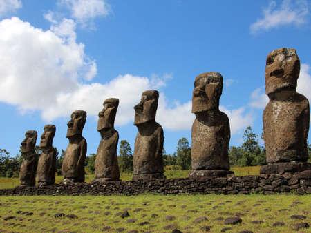rapanui: Isla de Pascua y las esculturas de caras