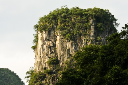 karst: Details of karst mountain
