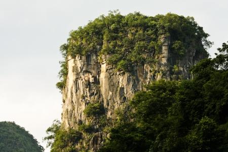karst: Details of karst mountain