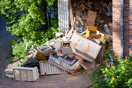 Grappig junk Stockfoto