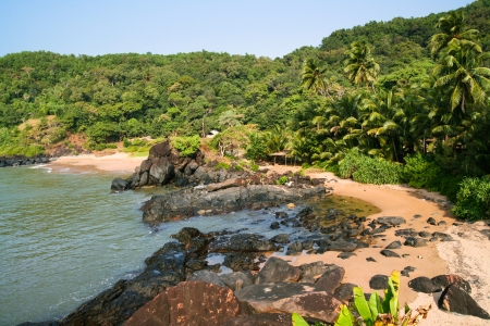 unspoiled: Unspoiled small paradise beach in india