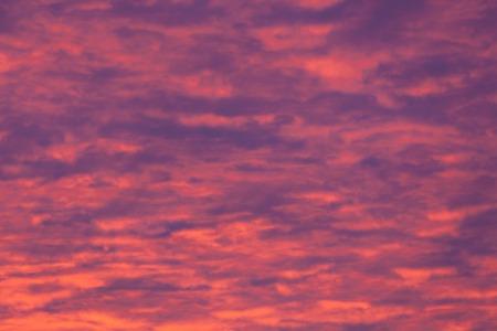 Vibrant purple clouds sunset detail photo