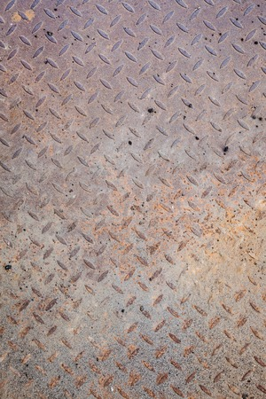 Dirty metal diamond grip pattern photo