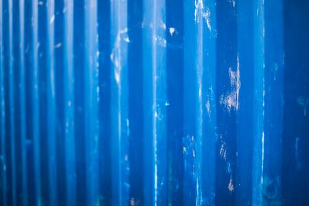 blue metallic background: Scratched blue metallic background Stock Photo