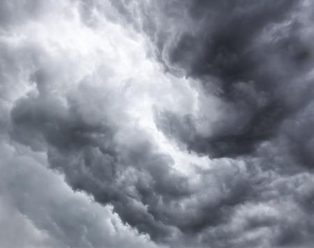 Grote onweerswolk Stockfoto
