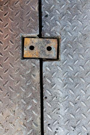 diamondplate: Dirty metal diamond grip pattern texture