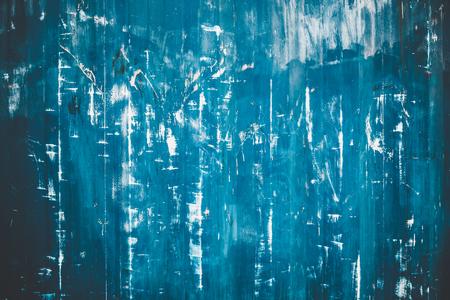 scratched: Scratched blue metallic texture