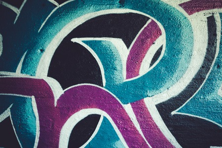 Abstrack graffiti background