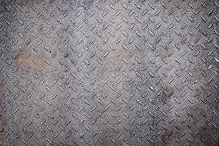 hoja en blanco: Metal de diamante patrón de agarre sucio textura