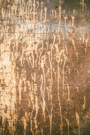 worn: Old worn rusty texture with dripping paint
