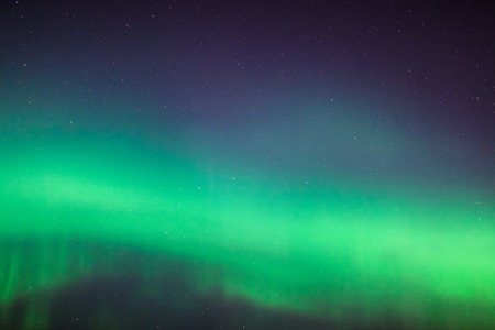 Prachtige noordelijke lichten aurora borealis achtergrond detail Stockfoto
