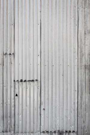 corrugated metal: Corrugated metal wall background texture