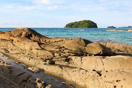 Kelambu beach malaysia Stock Photo