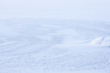 Natural wind snow pattern background Stock Photo