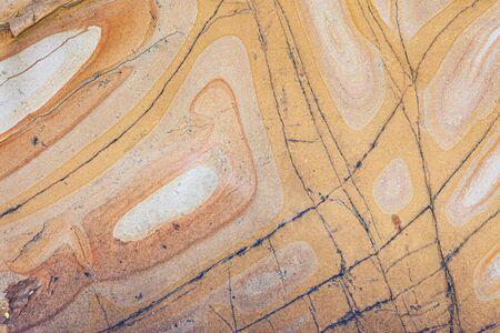 Natural sandstone patterns smooth shapes background