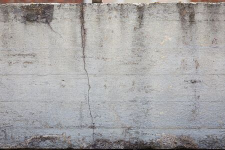 Grey concrete wall weathered texture background Stock Photo