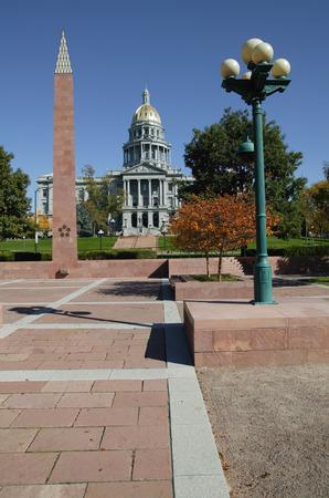 View of Capitol Building, Denver, Colorado, USA