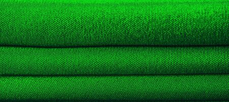 High resolution background texture, decorative basis for design, silk green fabric to make the desired size or shape by inserting the necessary elements or details.