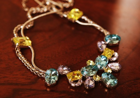 necklase: Nice necklase with colorful stones