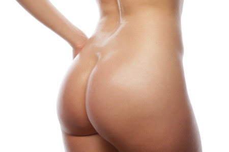 nude women: Beautiful buttocks of a nude woman