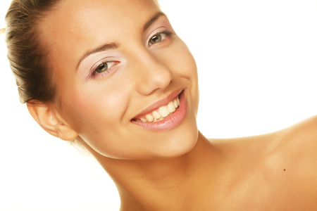 womanliness: young beauty Stock Photo