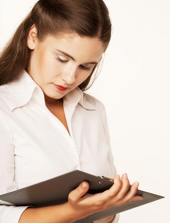 Businesswoman Taking Notes photo