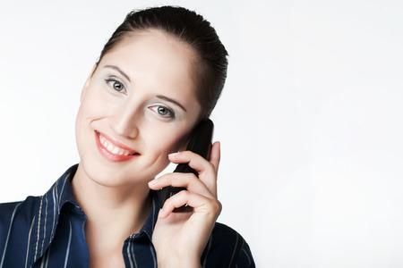 Woman on Phone photo