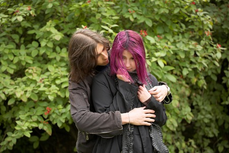 lovely couple: lovely couple Stock Photo